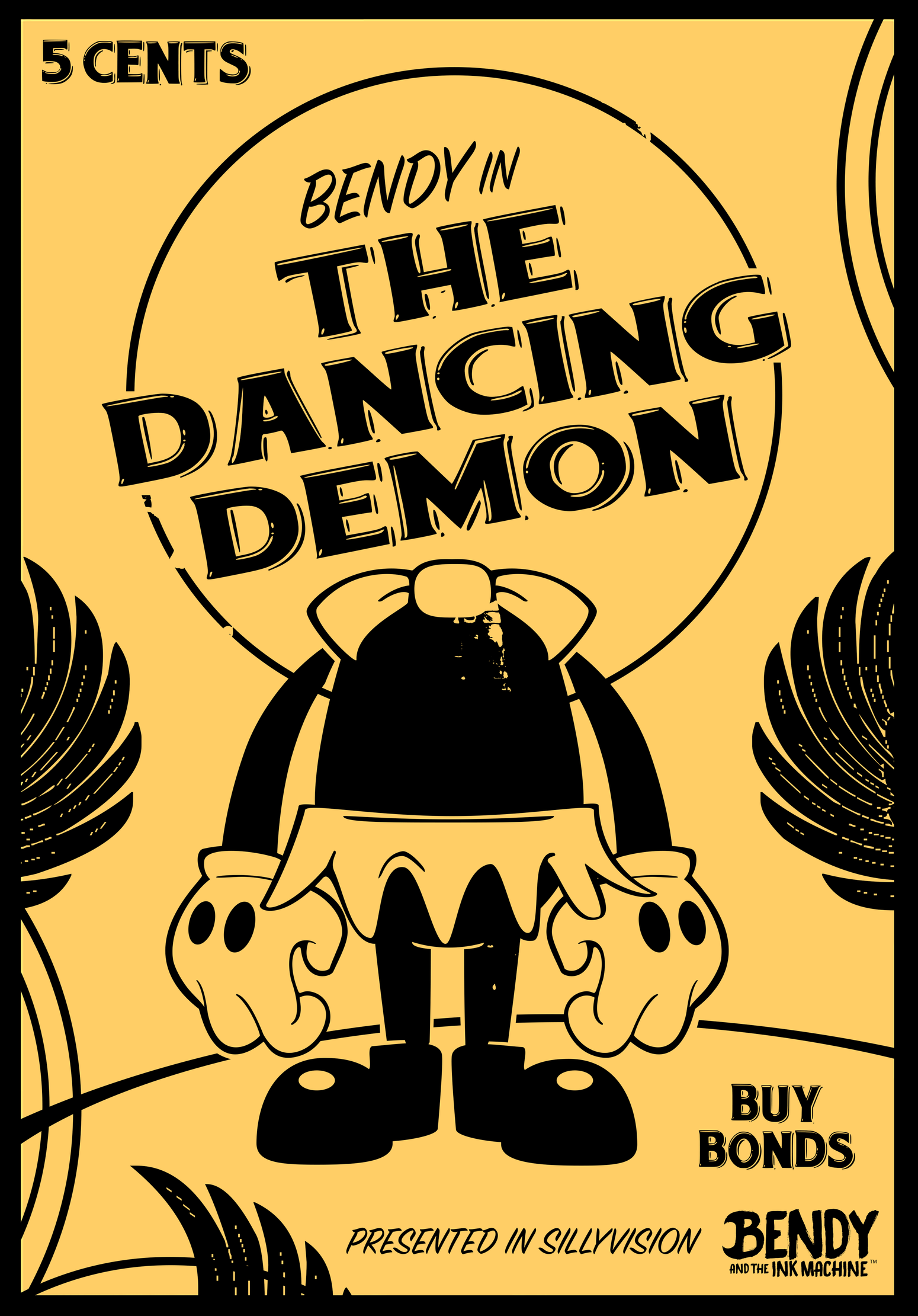 bendy and the ink machine sheep songs poster