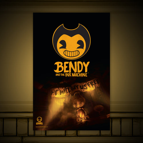 Bendy Chapter 4 Poster