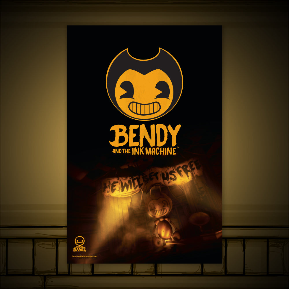 Bendy Chapter 4 Poster – Bendy and the Ink Machine ...