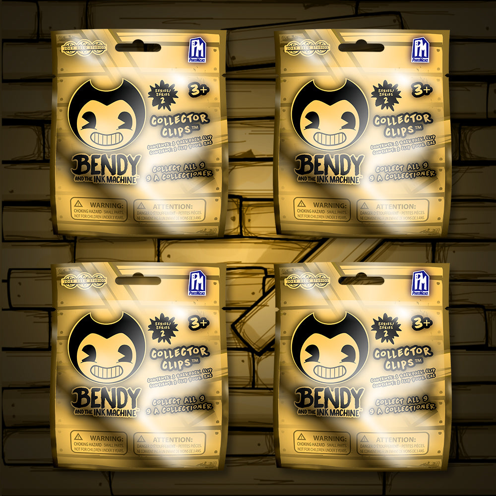 Bendy Blind Bag Collector Clips - Series 2