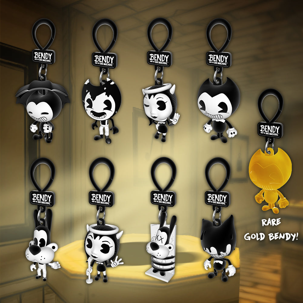 Bendy and the Ink Machine Collectible Figure Pack 4 Figures