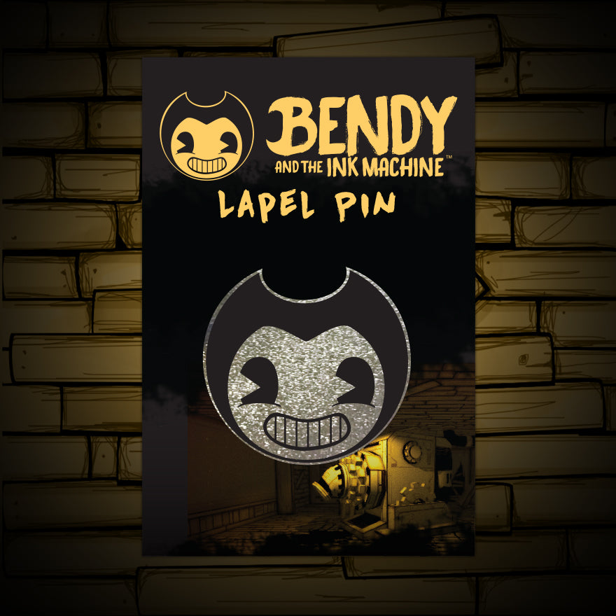 Bendy Lapel Pin Bendy And The Ink Machine Official Store