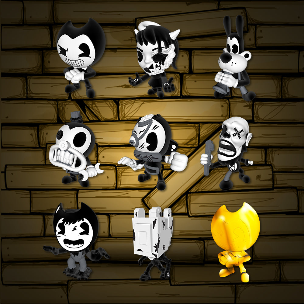 Bacon Soup Can Mini Figures With Dlc Bendy And The Ink
