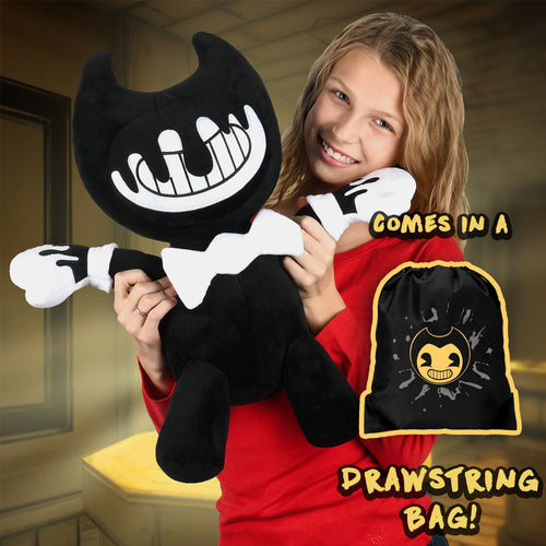 Ink Bendy Jumbo Plush w/ Drawstring Bag