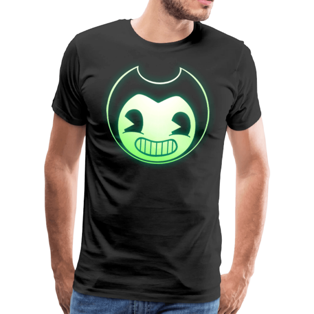 Bendy Glow-In-The-Dark T-Shirt (Mens)
