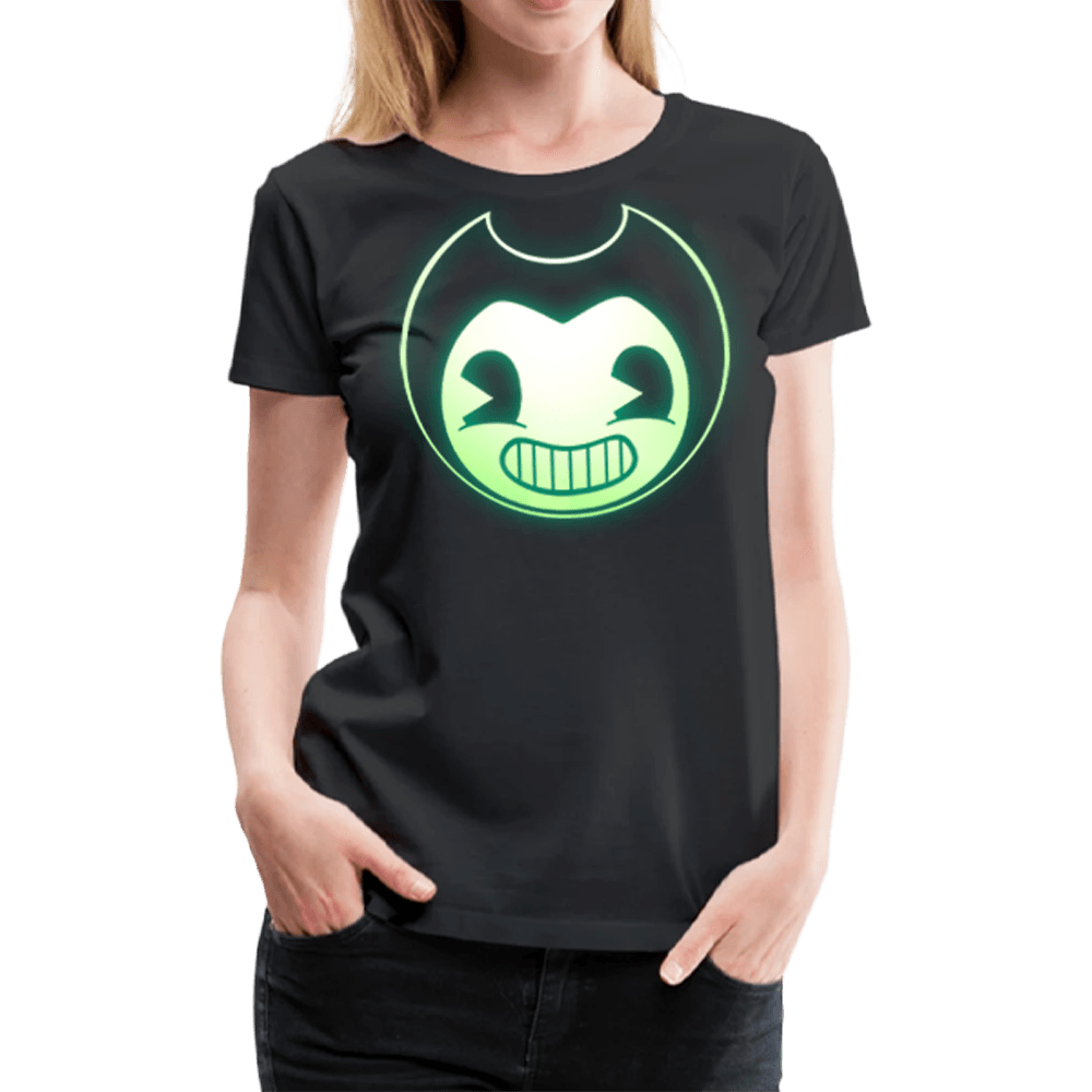Bendy Glow-In-The-Dark T-Shirt (Womens)