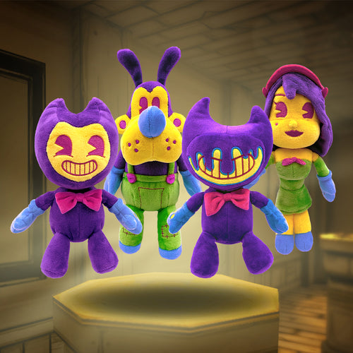 Blacklight Beanie Plush Bundle