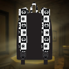 Bendy Checkerboard Logo Backpack