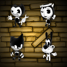 "Bendy Collectible Figure Pack (2.5"" Tall)"