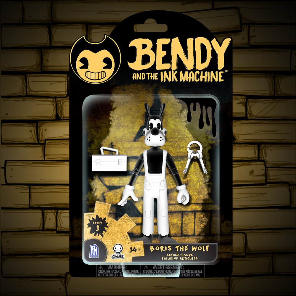 Boris The Wolf Action Figure Bendy And The Ink Machine