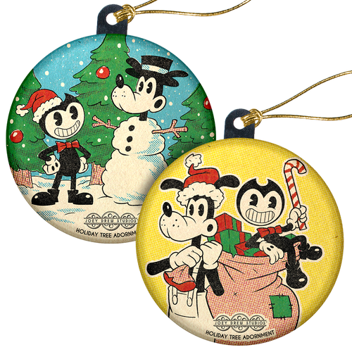 Bendy Holiday 2020 Ornaments [Exclusive, Limited Edition]