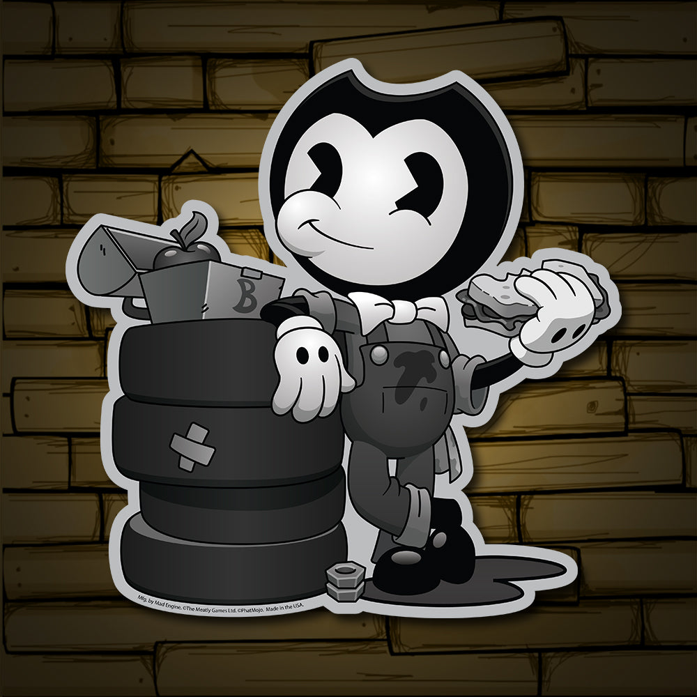 Nightmare Run Death And Taxis Sticker Bendy And The