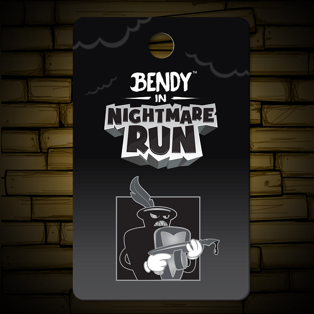 Nightmare Run - Dewey Decimated Lapel Pin