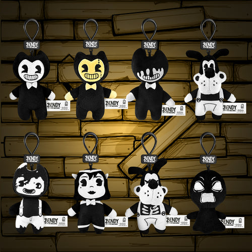 Bendy Blind Bag Collector Clips - Plush Version