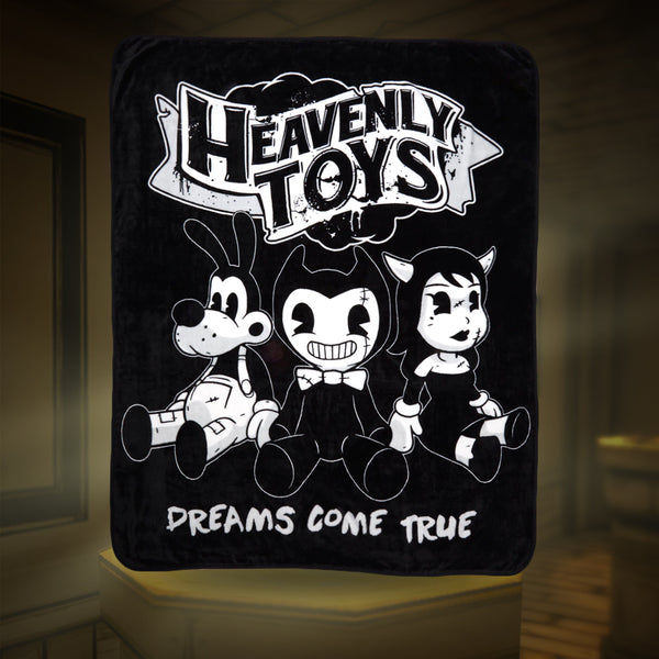 Bendy Heavenly Toys Fleece Blanket