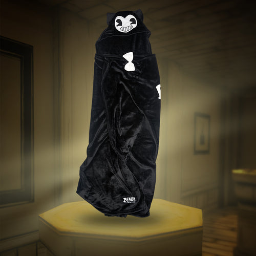 Bendy Hooded Fleece Blanket