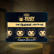 Bendy The Creator Lied To Us Rubber Bracelets (2-Pack)