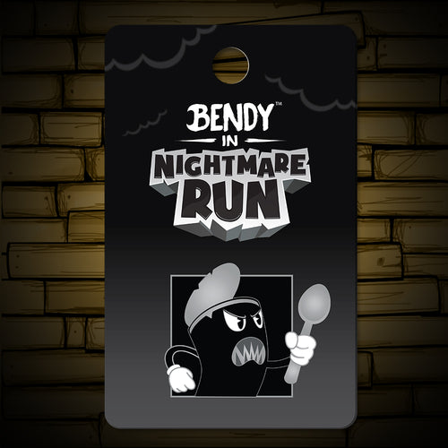 Nightmare Run - Soup Gone Bad Lapel Pin