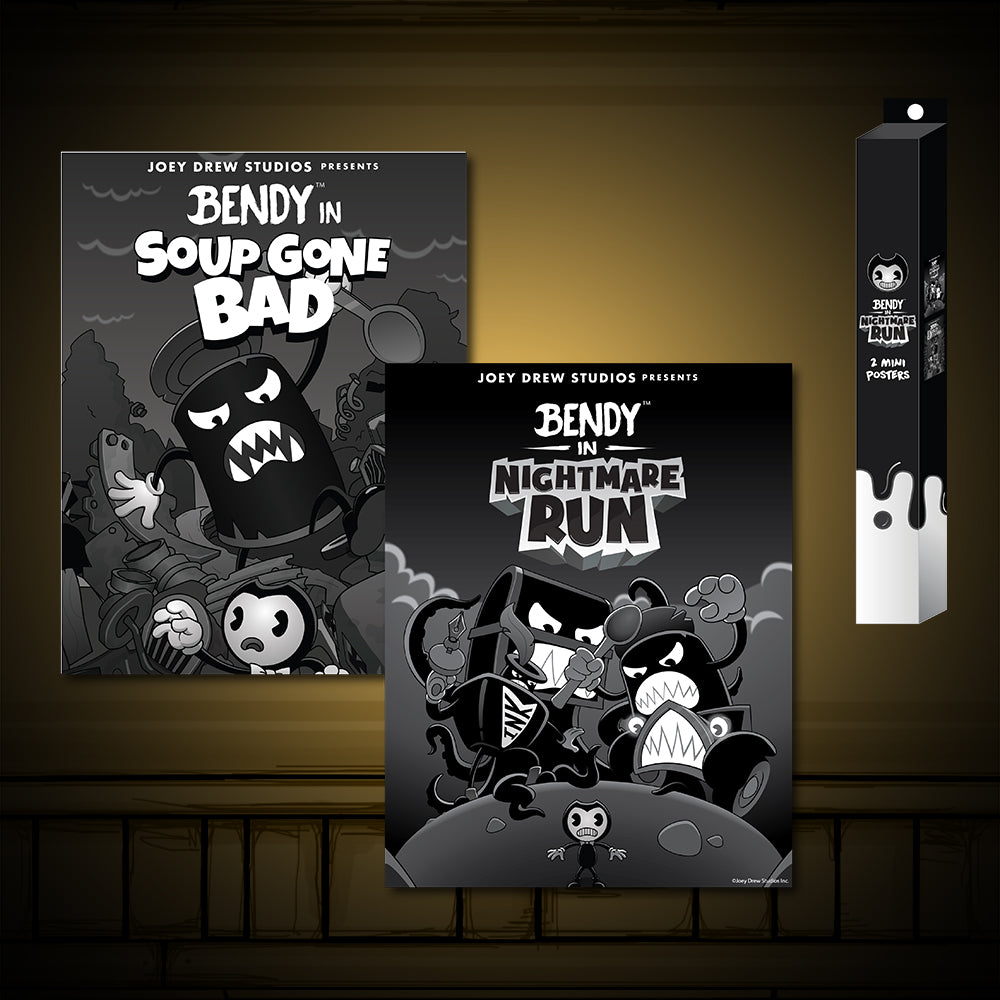 Nightmare Run - Soup Gone Bad Poster Set