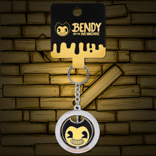 Bendy Metal Spinner Keychain