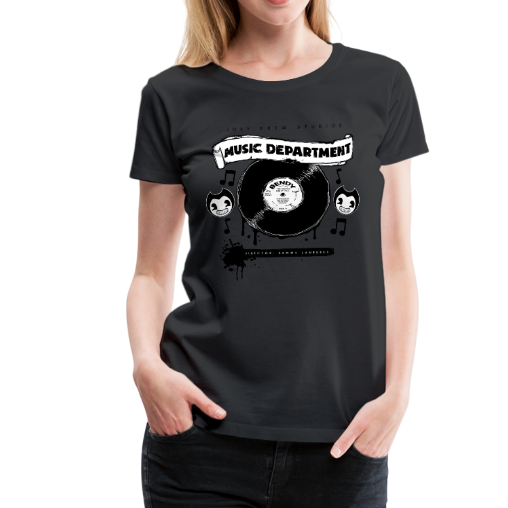 Bendy Music Department T-Shirt - black