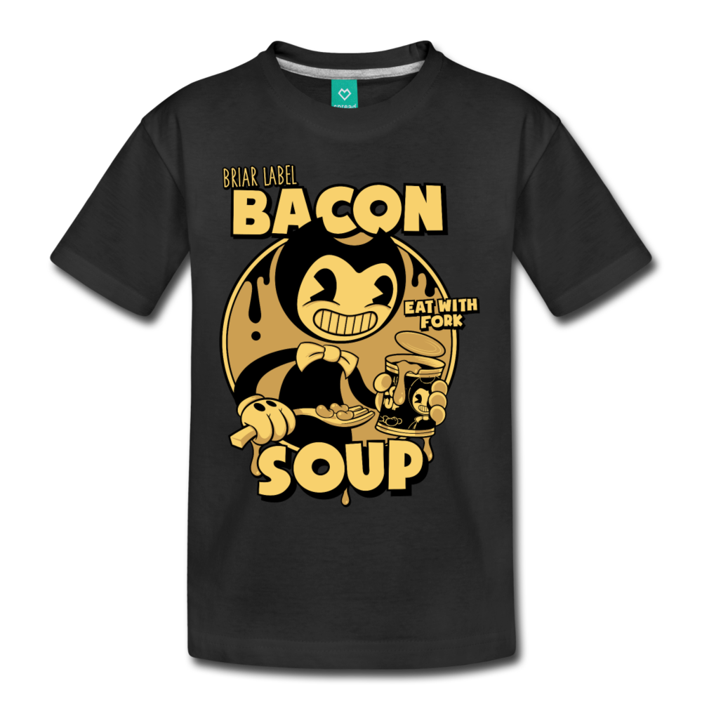 Bacon Soup T-Shirt (Youth) - black