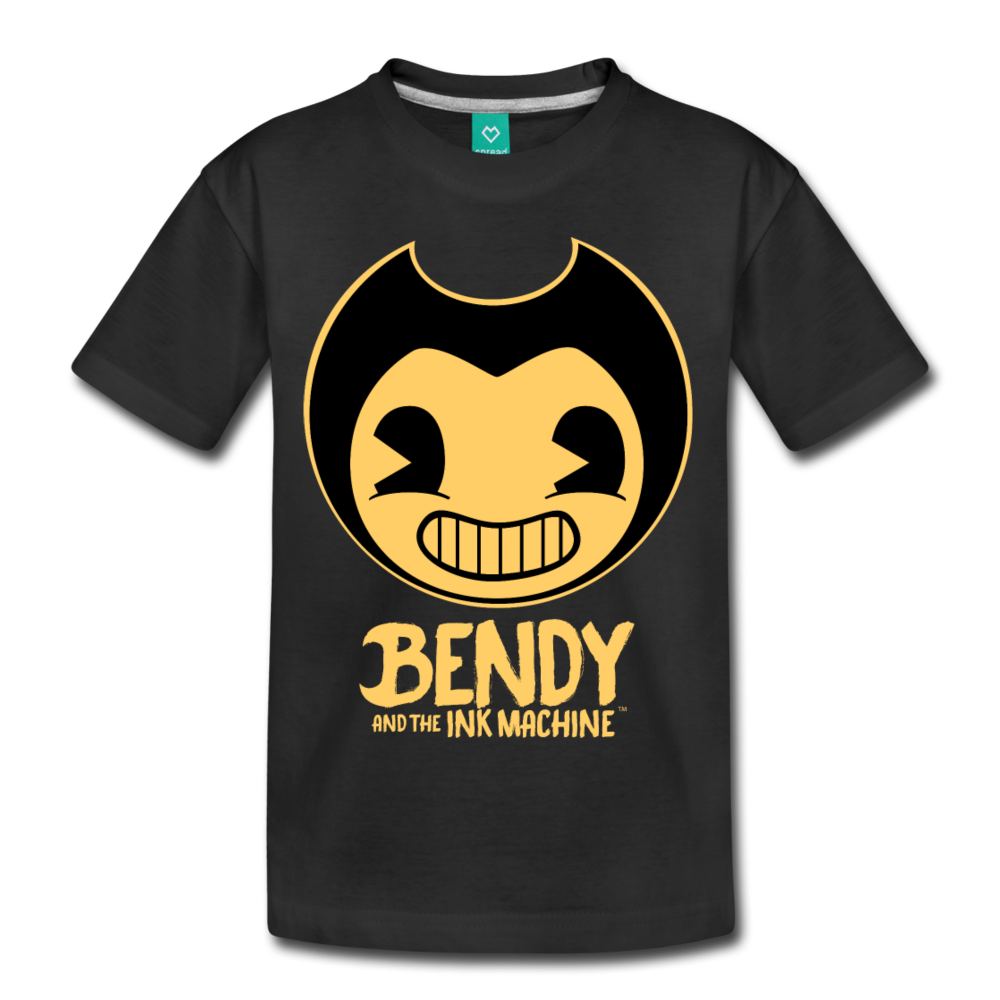 Bendy and the Ink Machine Logo T-Shirt - black
