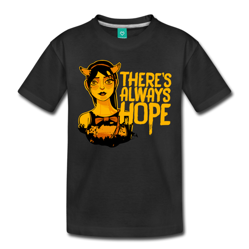 There's Always Hope T-Shirt (Youth) - black