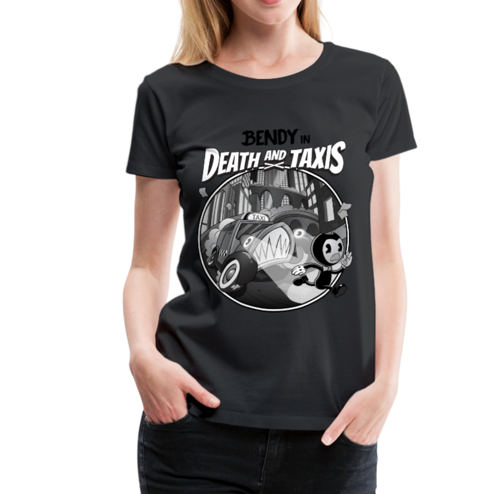 Nightmare Run - Death and Taxis T-Shirt (Womens) - black
