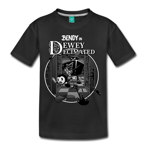 Nightmare Run - Dewey Decimated T-Shirt (Youth) - black
