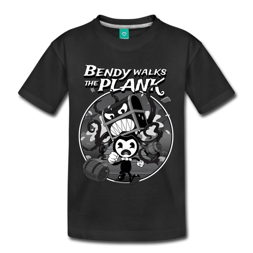 Nightmare Run - Walks the Plank T-Shirt (Youth) - black
