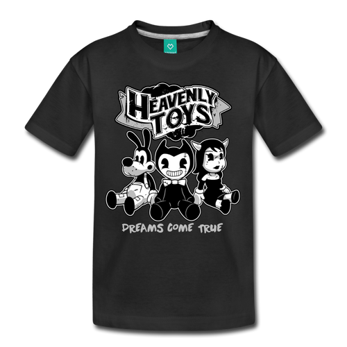 Heavenly Toys T-Shirt (Youth) - black