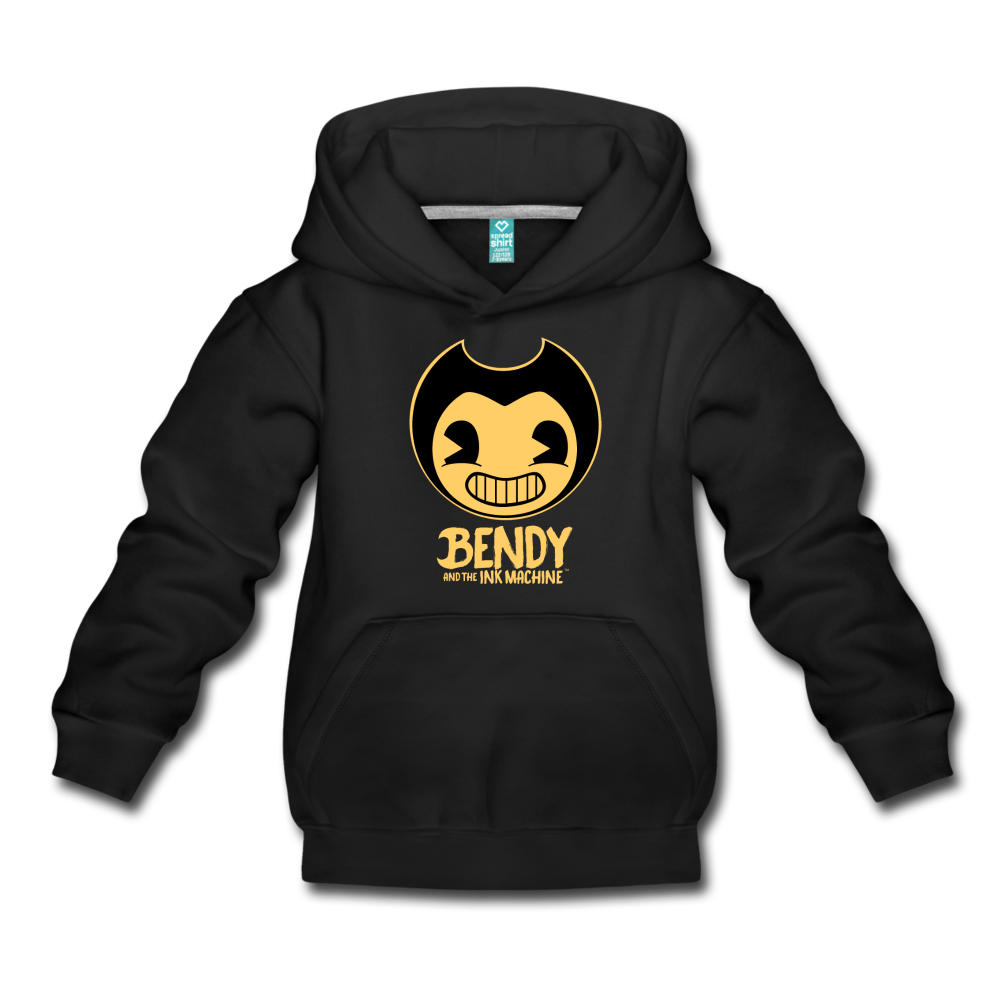 Bendy and the Ink Machine Logo Hoodie - black