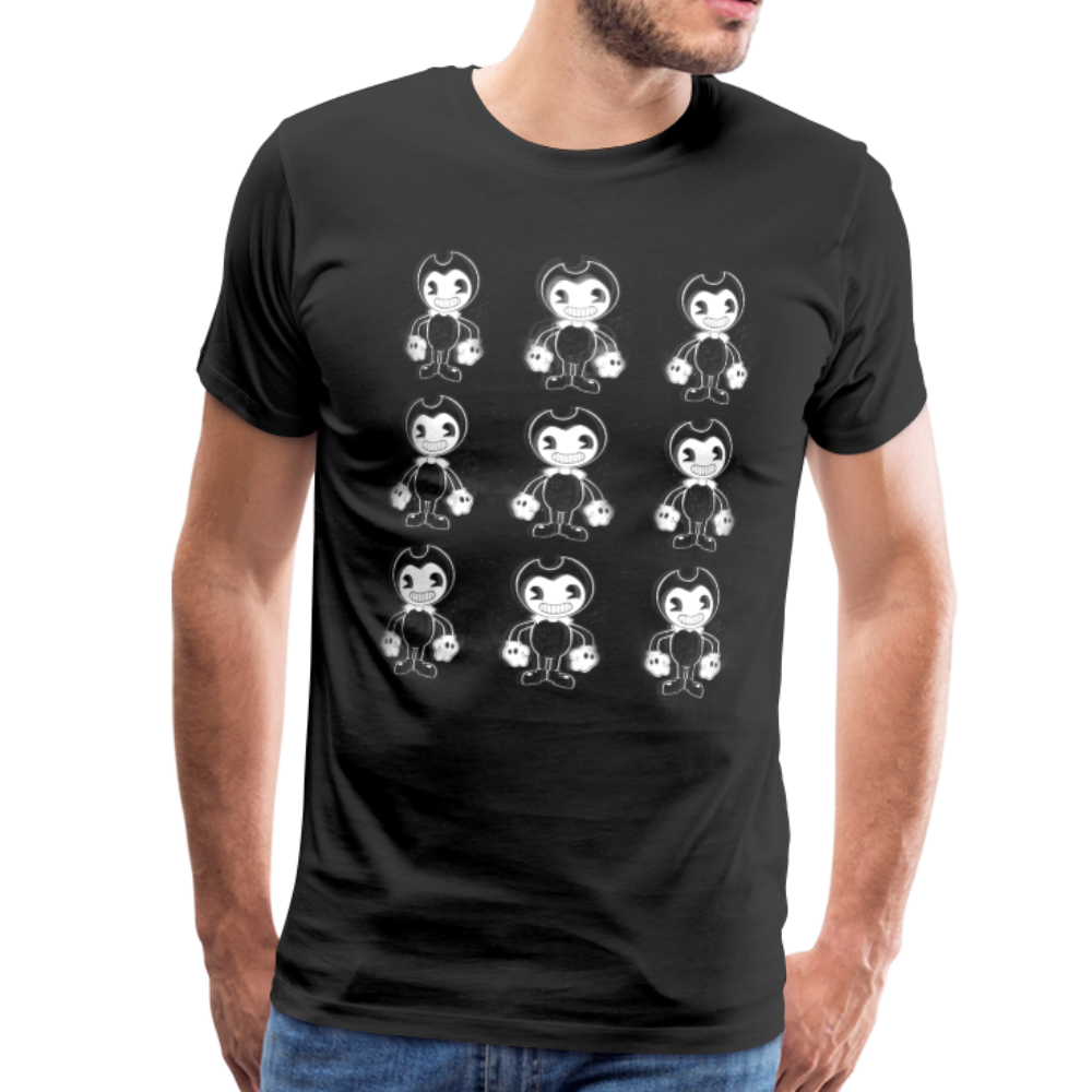 Dancing Bendy T-Shirt (Mens) - black