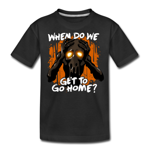 Go Home? T-Shirt - black