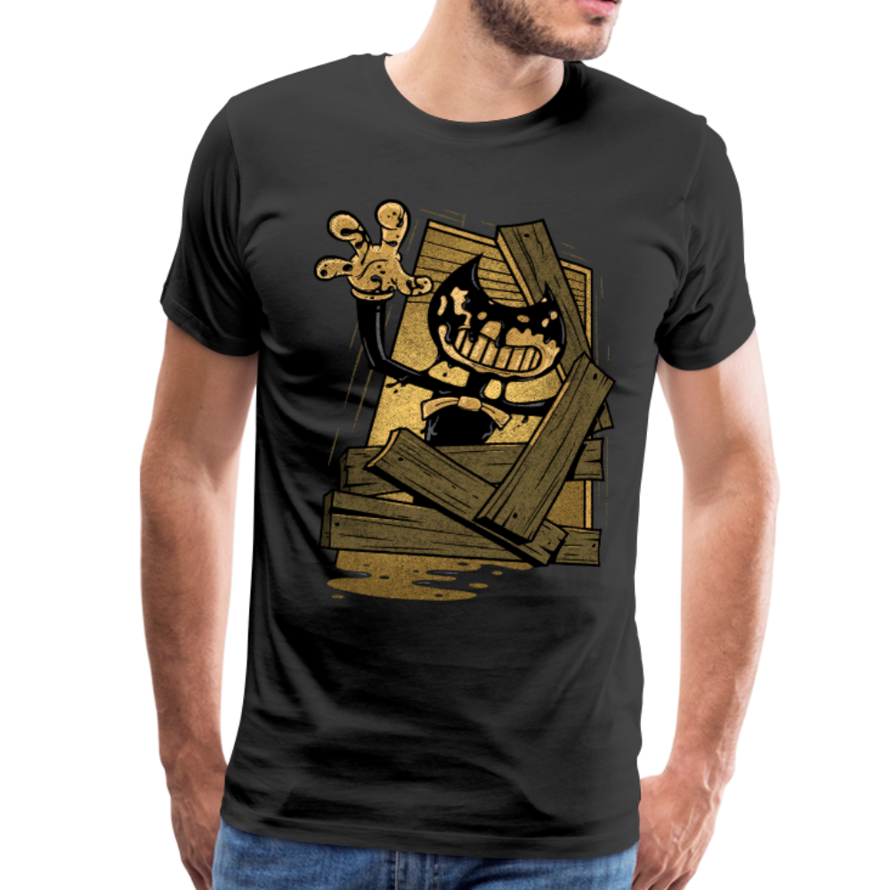 Jump Scare T-Shirt (Mens) - black