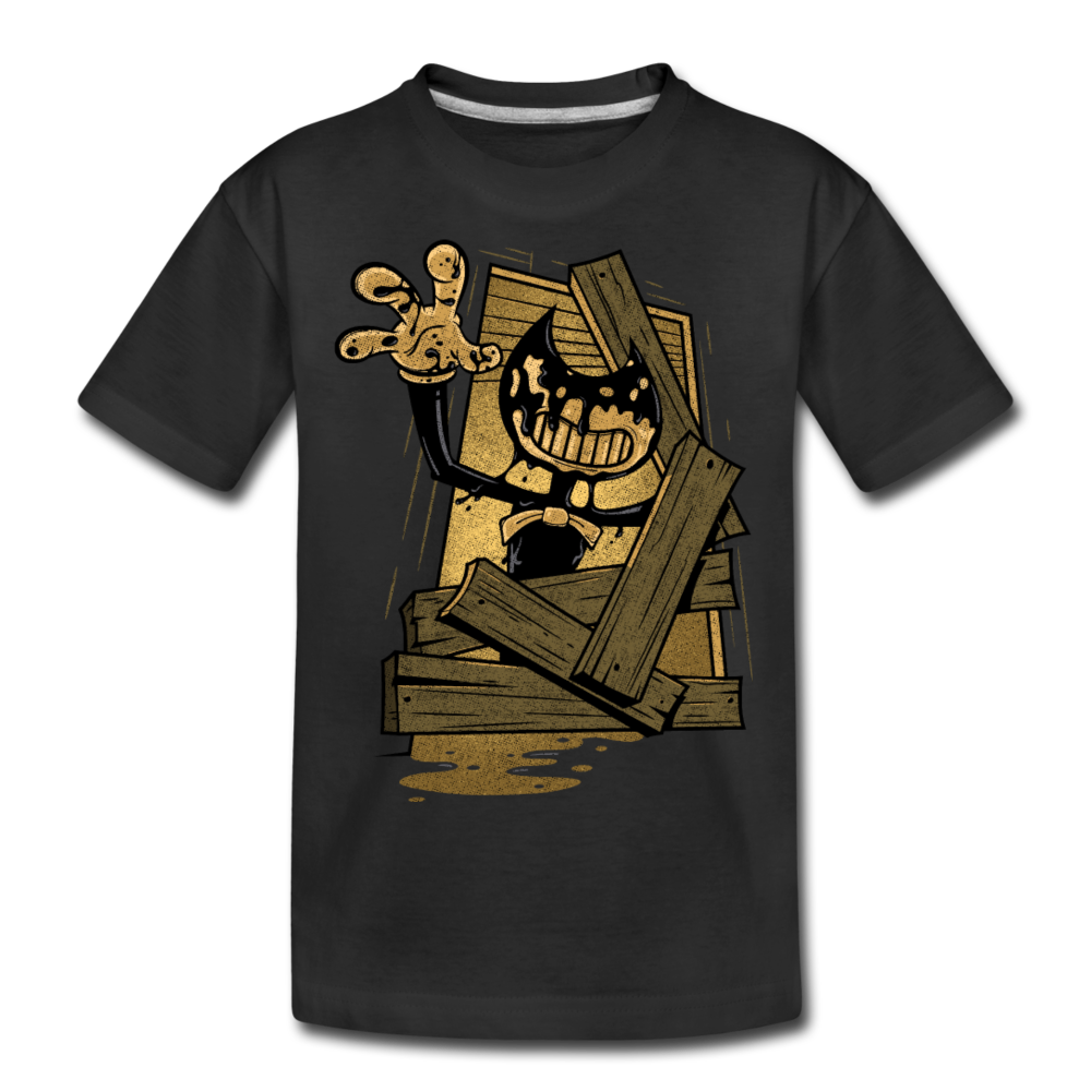 Jump Scare T-Shirt - black