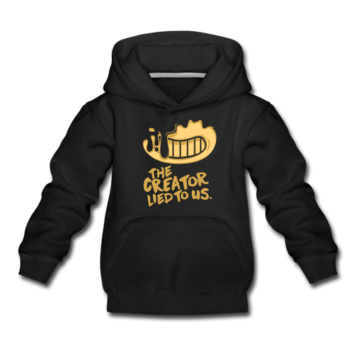 The Creator Lied to Us Hoodie - black
