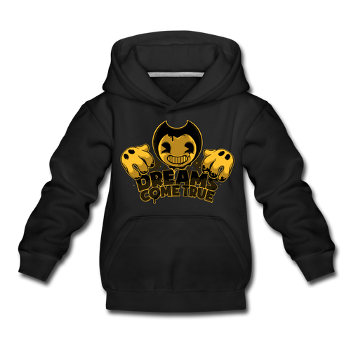 Bendy Dreams Come True Hoodie - black