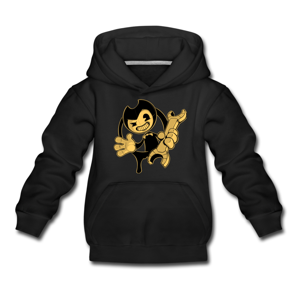 Bendy Wrench Hoodie - black