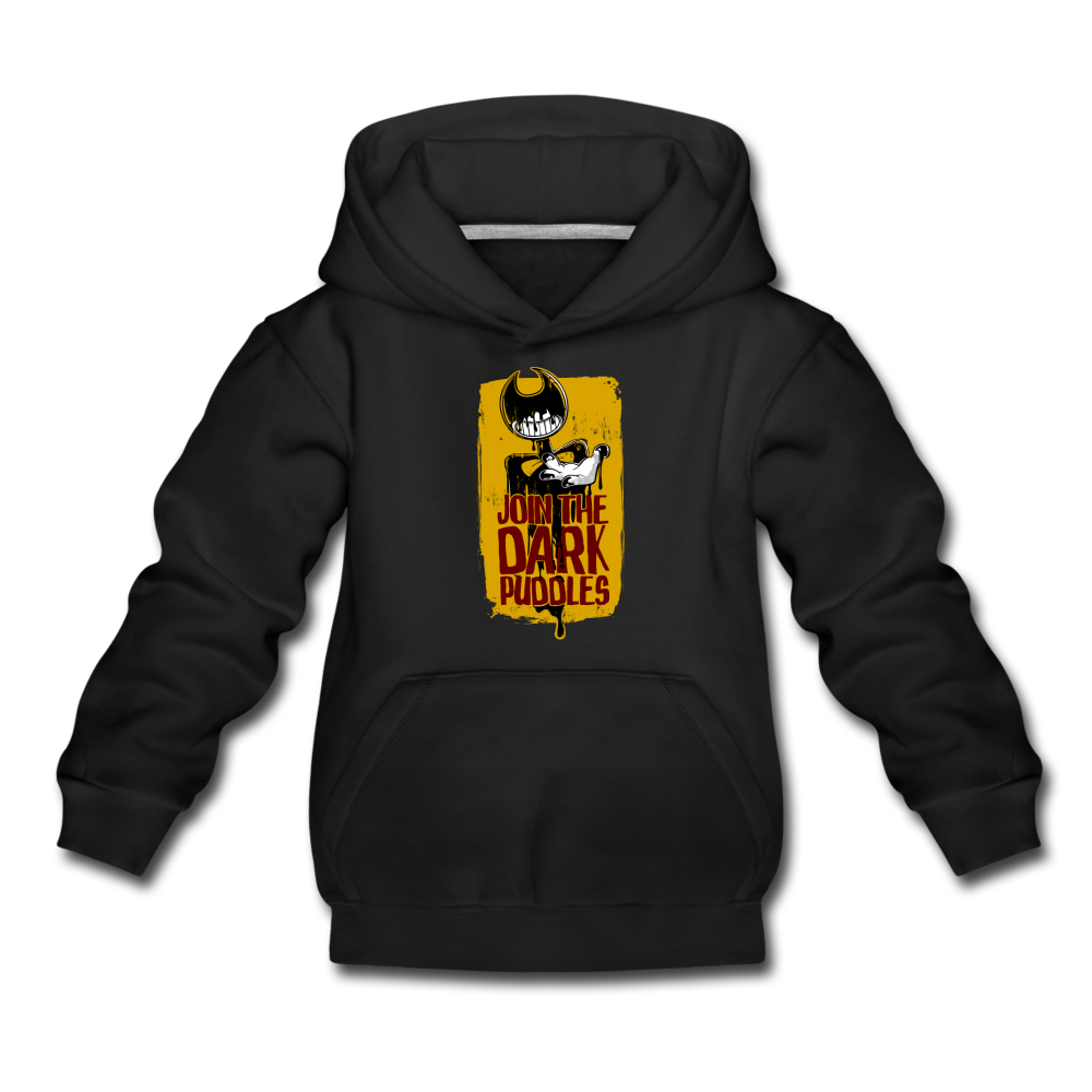 Join The Dark Puddles Hoodie (Youth) - black