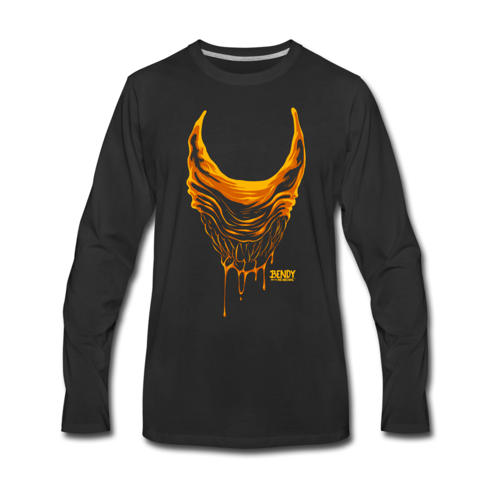 Beast Bendy Long Sleeve T-Shirt (Mens) - black