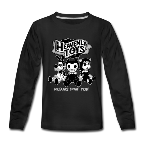 Heavenly Toys Long Sleeve T-Shirt (Youth) - black