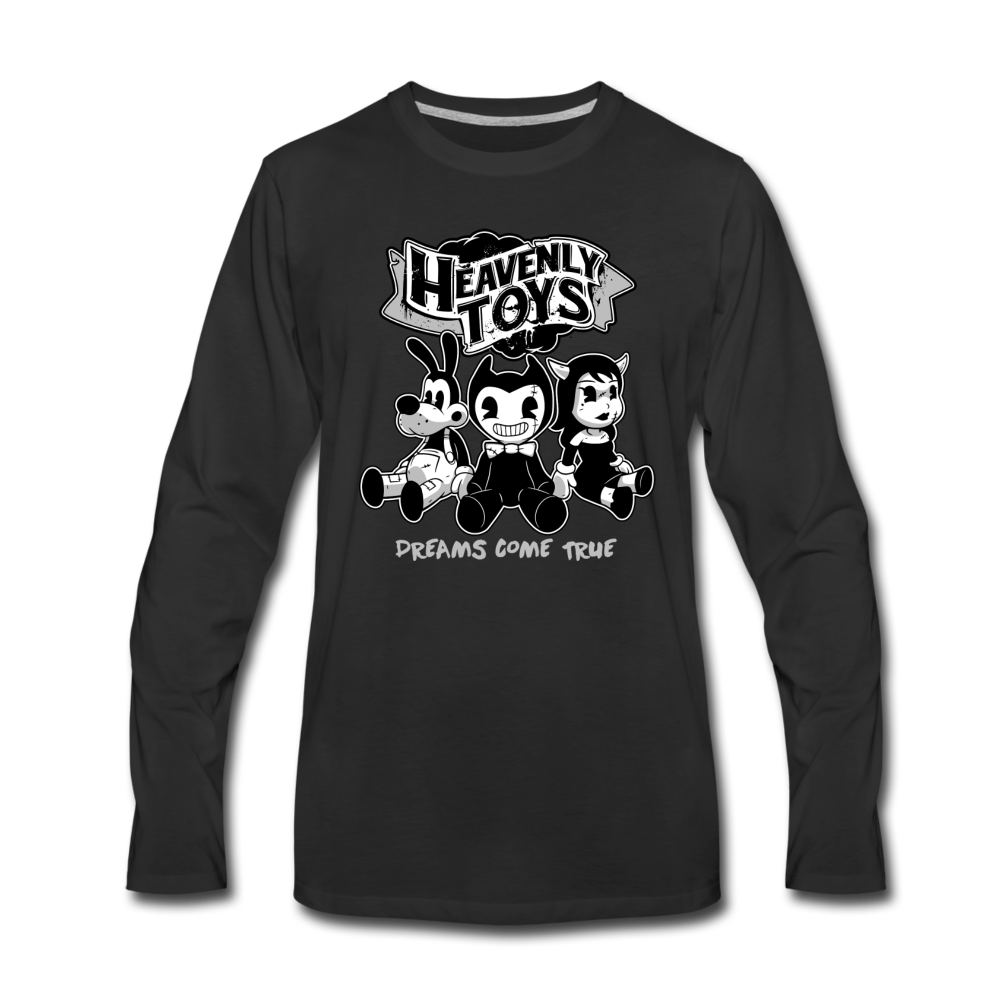 Heavenly Toys Long Sleeve T-Shirt (Mens) - black