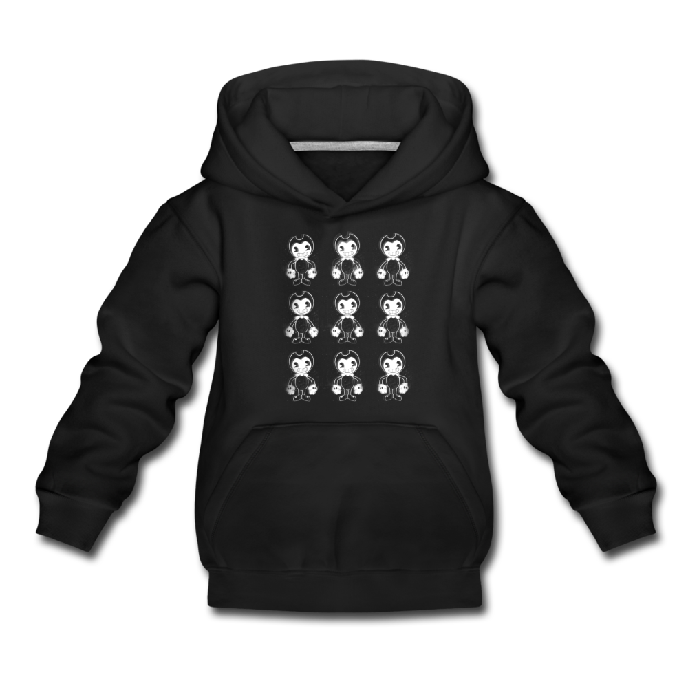 Dancing Bendy Hoodie (Youth) - black