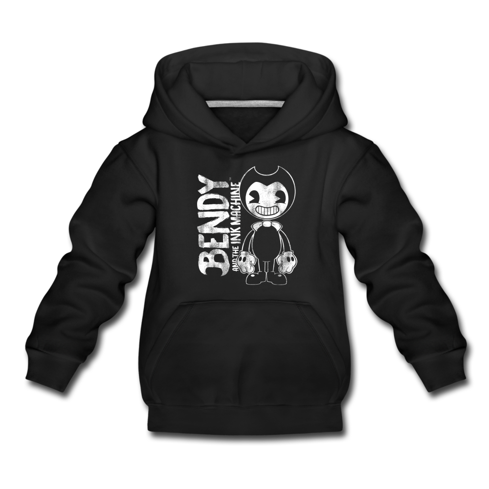 Ink Machine Logo Hoodie (Youth) - black