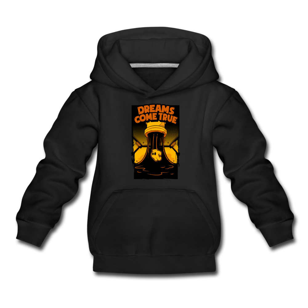Ink Pipe Hoodie (Youth) - black