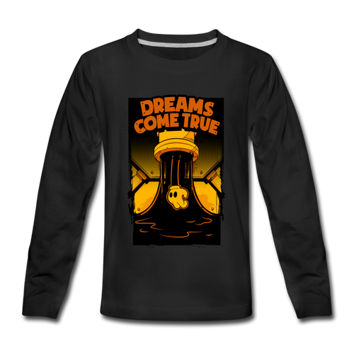 Ink Pipe Long Sleeve T-Shirt (Youth) - black