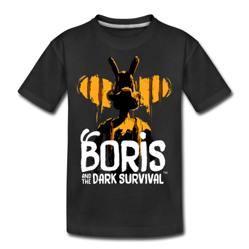 Boris and the Dark Survival - BATDS Title T-Shirt - black