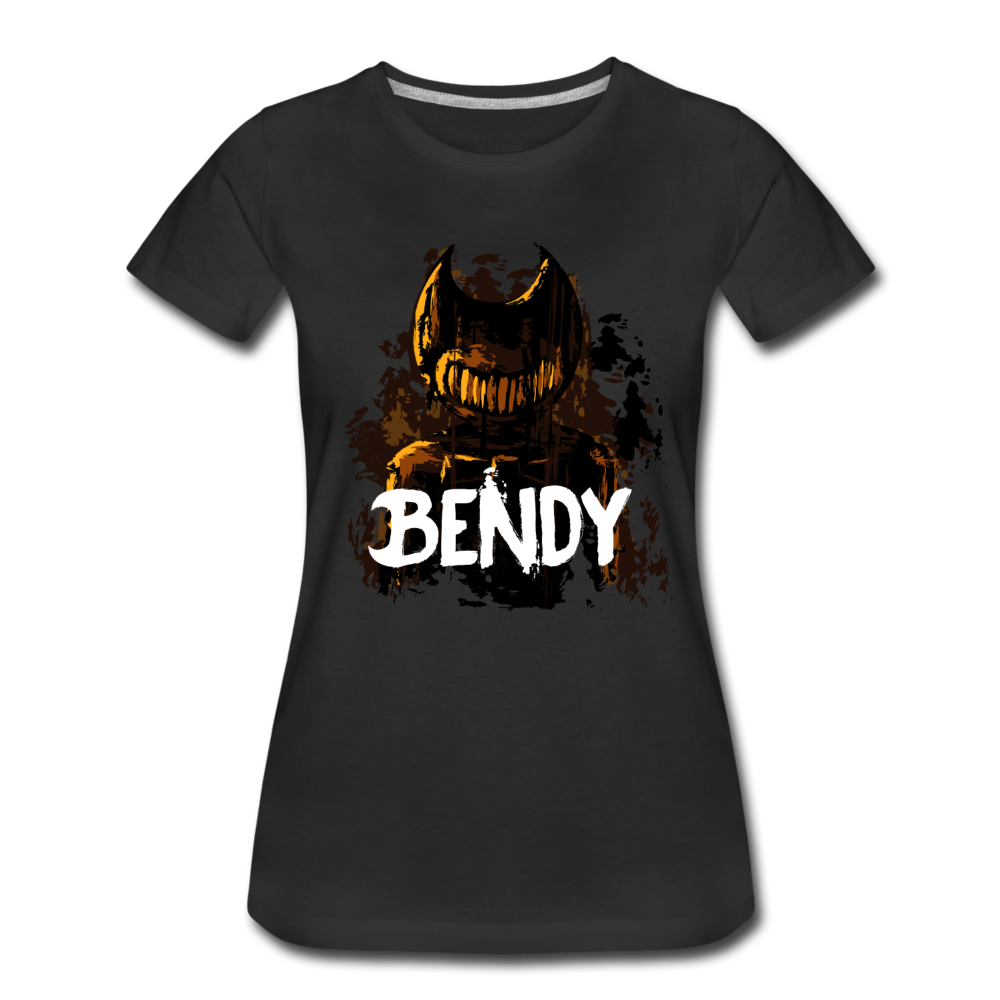 Boris and the Dark Survival - Survive Bendy T-Shirt (Womens) - black